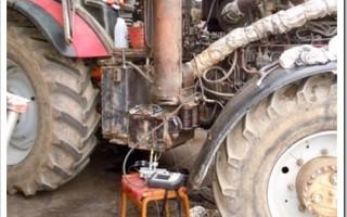 Как проходит диагностика трактора