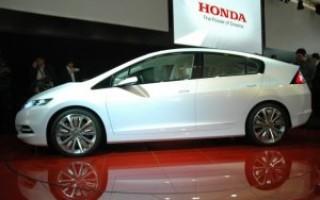 Новый серийный гибрид от корпорации Honda