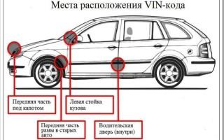 Как расшифровать vin код автомобиля