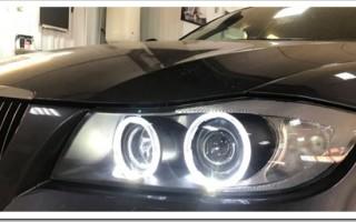 Покупка и замена стекол фар на автомобиль BMW 3 серии е90