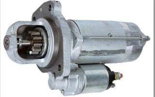 Основные неисправности стартера двигателя авто