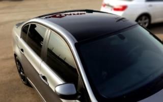 Преимущества защитной пленки для крыши автомобиля