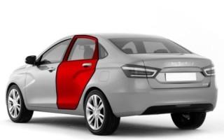 Лайфхак: дверь передняя (задняя) на автомобиле Лада Веста