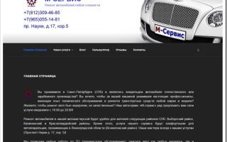 Обзор услуг по ремонту авто автосервиса М-Сервис в СПб