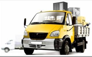 Какие машины используются в грузовом такси?