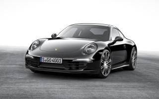 Модели Porsche Boxster и 911 Carrera получили спецверсию Black Edition