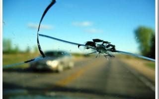 Как остановить трещину на лобовом?