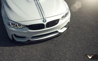 BMW M3 и M4 получил сплиттер и спойлер от Vorsteiner