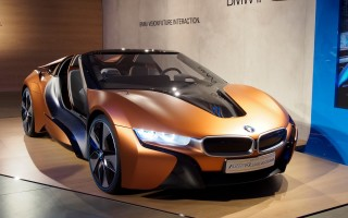 BMW i8 Vision Future Interaction на CES