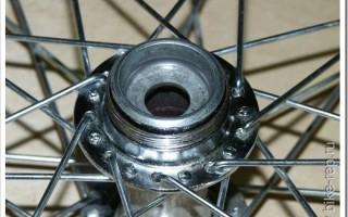 Как поменять втулку на велосипеде?