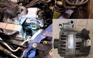Замена генератора на Форд Фокус 2 1
