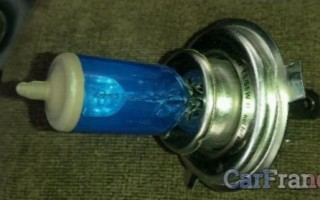 Замена ламп передней фары Рено Логан
