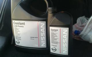 Антифриз Nissan L248, L250, аналоги и характеристики