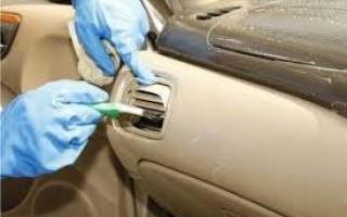 Особенности чистки автомобильного салона