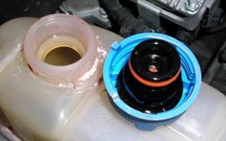 Конструкция системы охлаждения двигателя ЗМЗ-40524