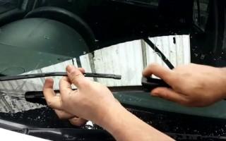 Размеры стеклоочистителей Renault Logan
