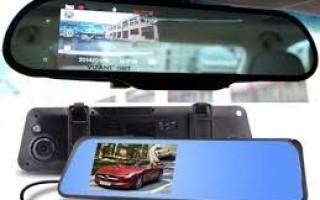 Зеркала с видеорегистратором: особенности конструкции