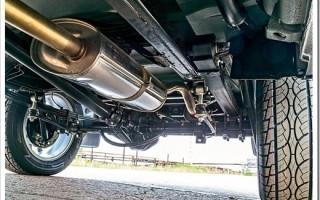 Как установить выхлопную систему на УАЗ Хантер?