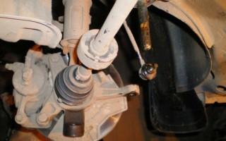 Как проверить рулевую рейку на Шевроле Авео
