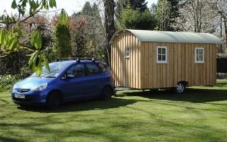 Как сделать дом на колесах