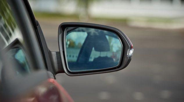 вид из зеркал Лвда Веста
