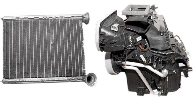 Замена вентилятора печки (отопителя) Лада Веста