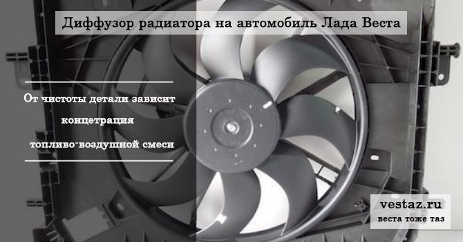 Диффузор Лада Веста
