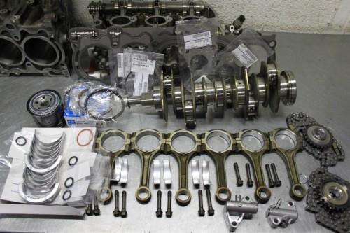 Какие нужны запчасти для ремонта двигателя