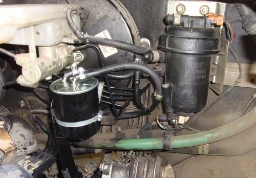 Как поменять топливный фильтр на Ситроен джампер
