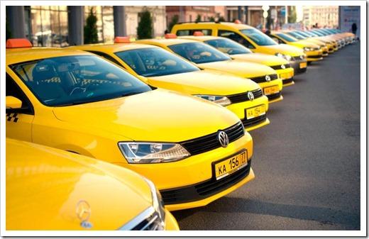 Популярность такси в Москве