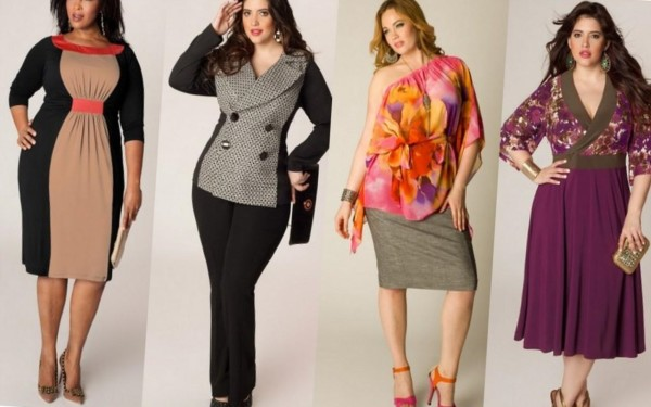 Одежда для полных - как правильно подобрать