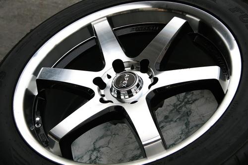 Как отполировать колесные диски