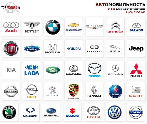 Большой выбор автозапчастей в Top-motors.ru