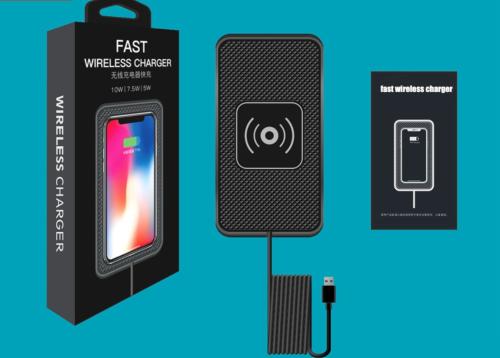 Обзор беспроводного зарядного устройства для авто Qi car charger