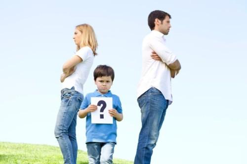 Как подавать на развод, если есть дети