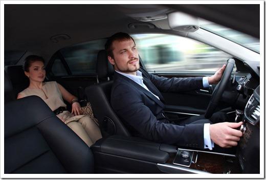 Преимущества езды с водителем