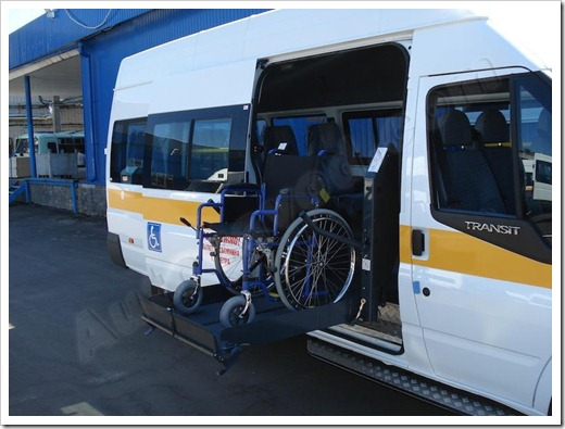 Как осуществляется перевозка колясочника?