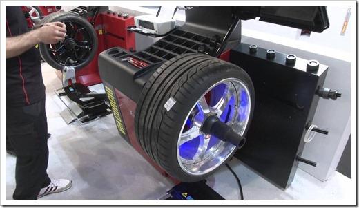 Центровка колеса и балансировка