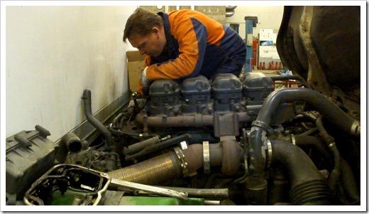 Запарафинирование двигателя