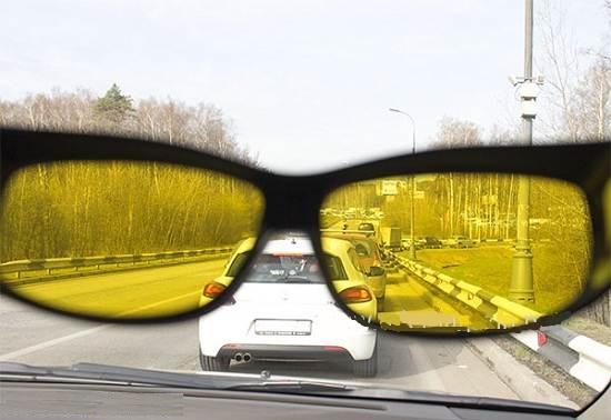 Для чего нужны желтые очки для водителей