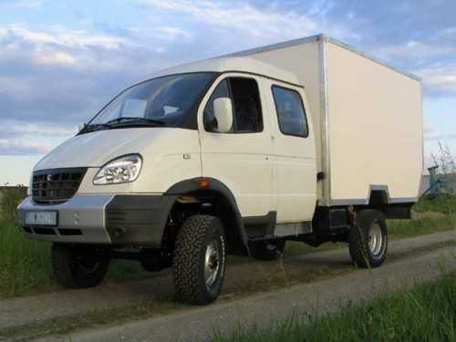 промтоварный фургон