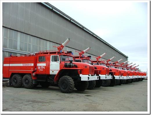 Основные пожарные автомобили и их классификация