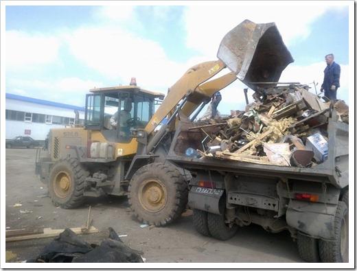Как осуществляется вывоз строительных отходов профессионалами?