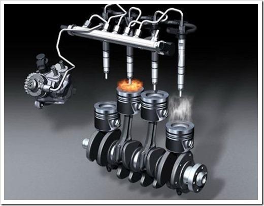 Управление впрыском топлива через блок двигателя