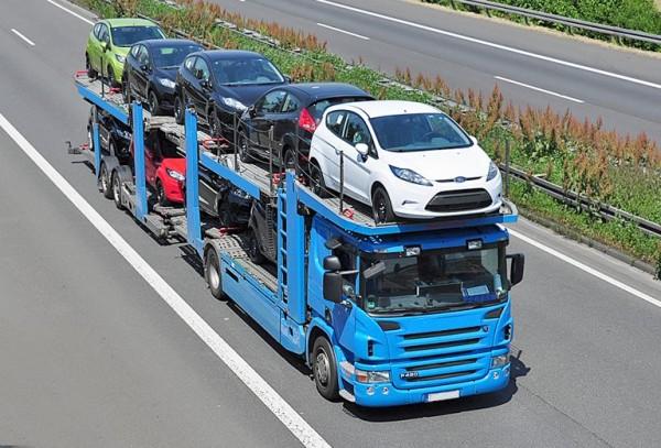транспортировка машины автовозом