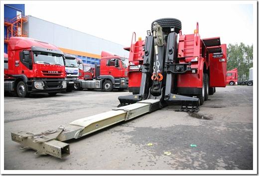 Наличие манипулятора у грузового эвакуатора