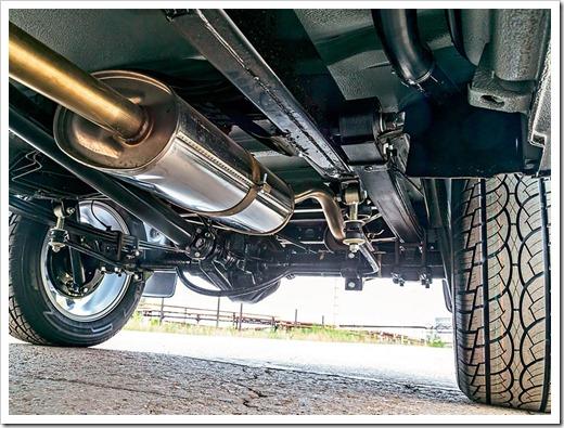 Составные части выхлопной системы УАЗ Hunter